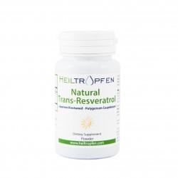 Natural Trans-Resveratrol prah, 50g